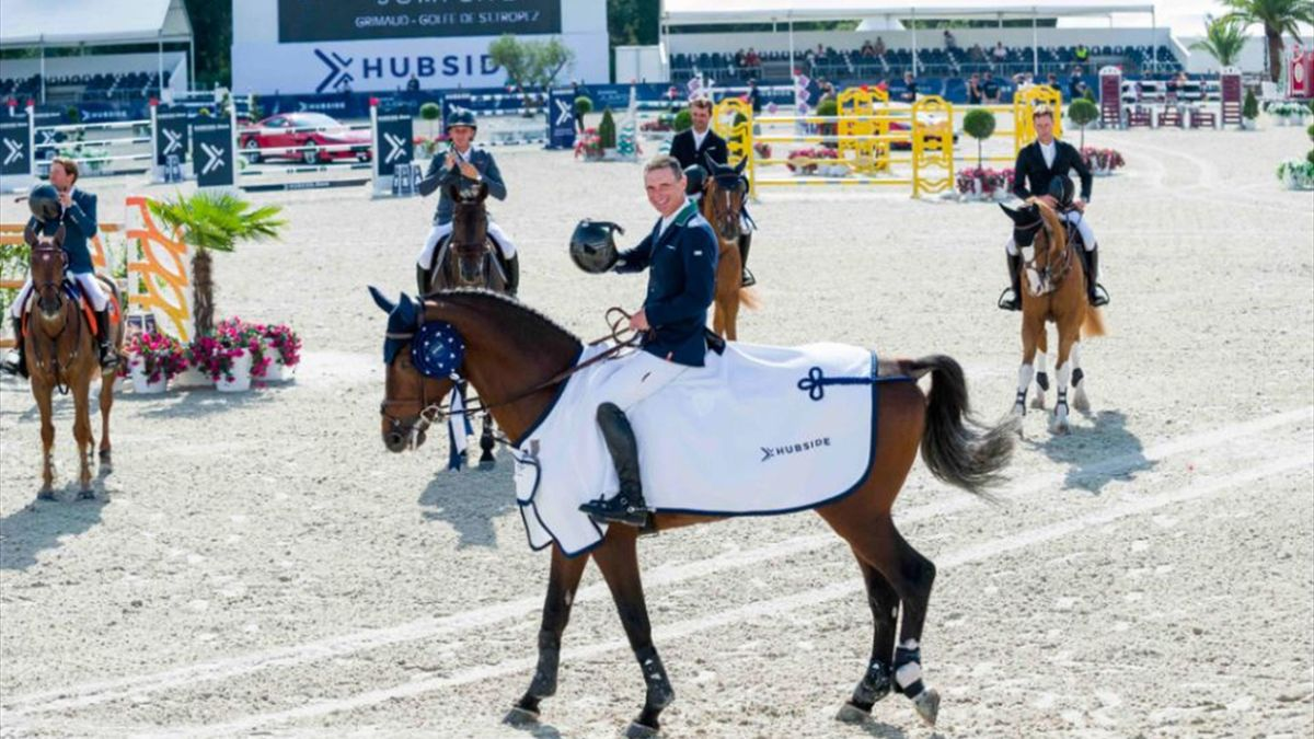 Denis Lynch on top in Grimaud Grand Prix