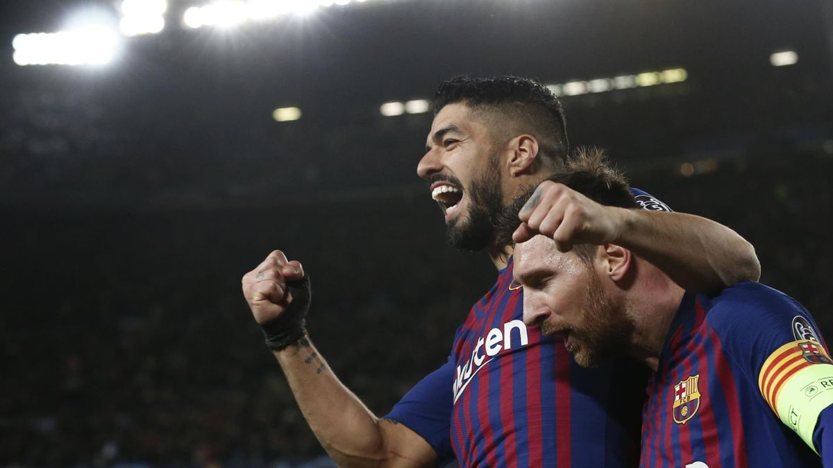 Luis Suarez și Lionel Messi sunt buni prieteni