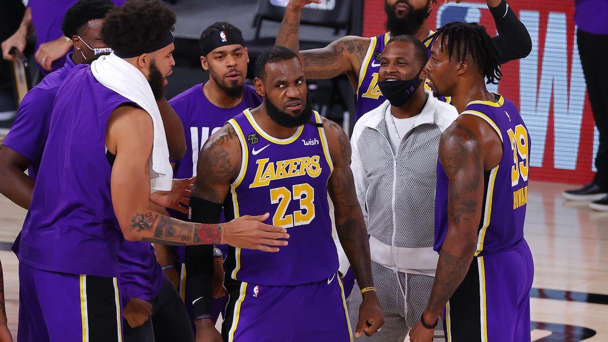 James führte die Lakers in die Finalserie