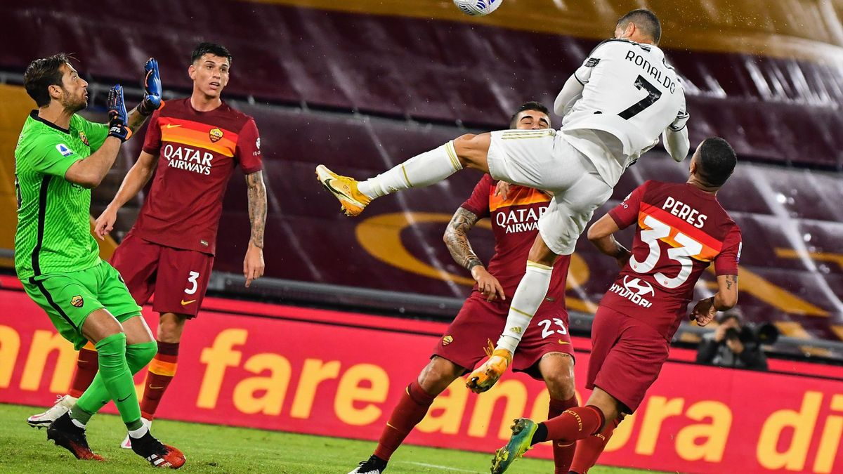 Cristiano Ronaldo a reușit o dublă în poarta Romei