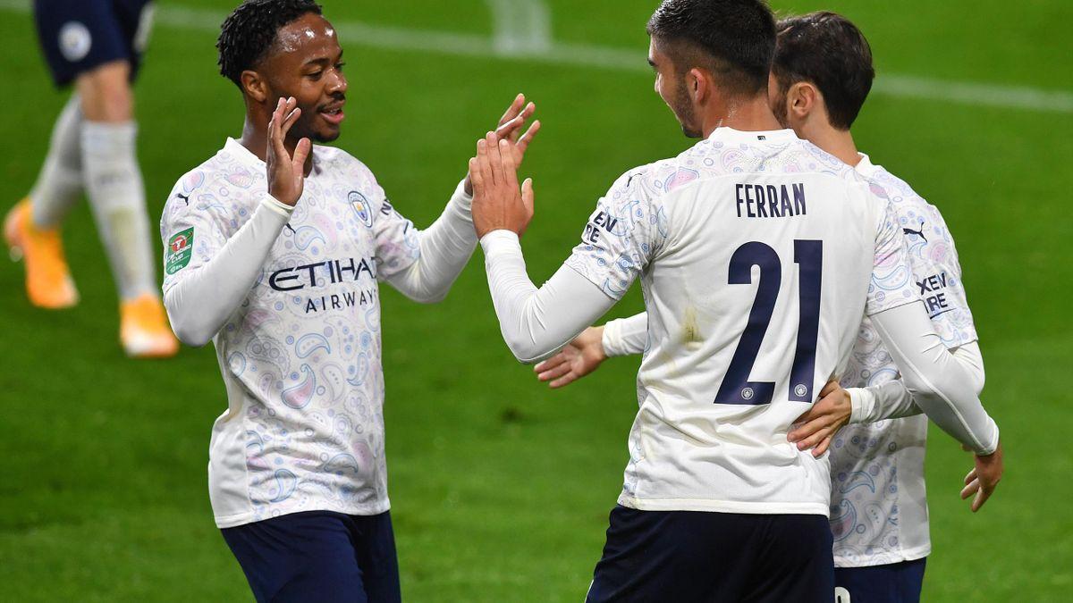 Il Manchester City dilaga contro il Burnley