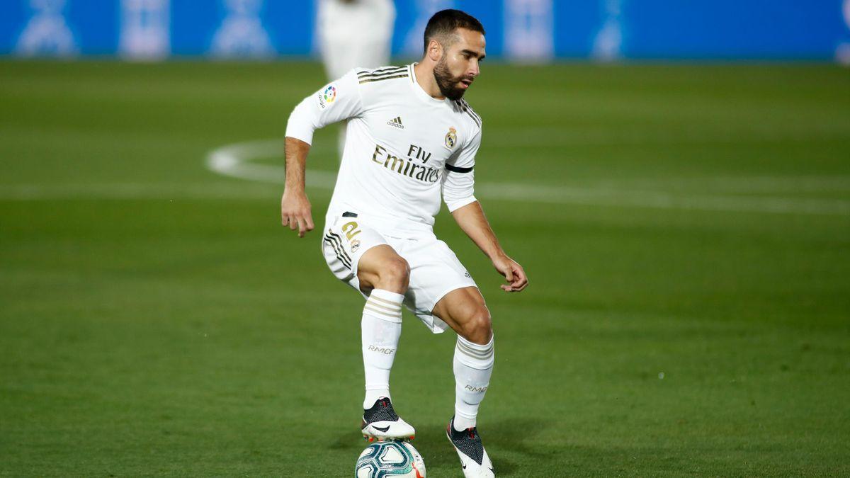 Dani Carvajal, fundașul lui Real Madrid
