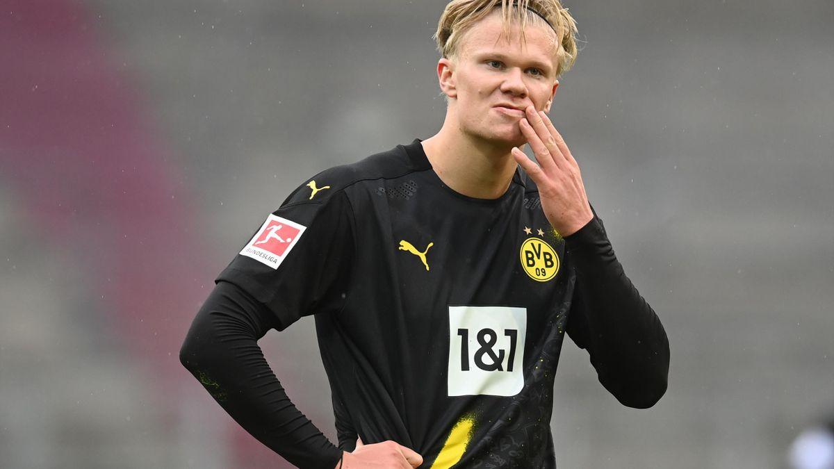 Erling Haaland, atacantul Borussiei Dortmund