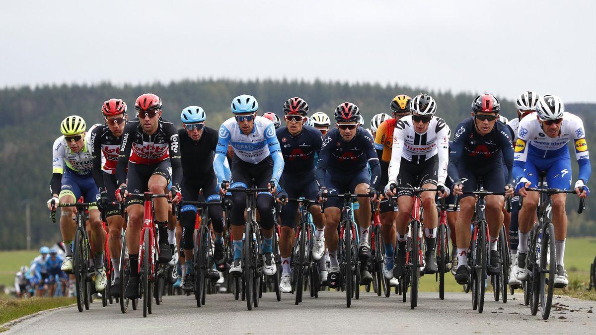 Liege - Bastogne - Liege 2020, Men Elite a 257km race from Liege to Liege / #LBL / #classiquesardennes / on October 04, 2020 in Liege, Belgium