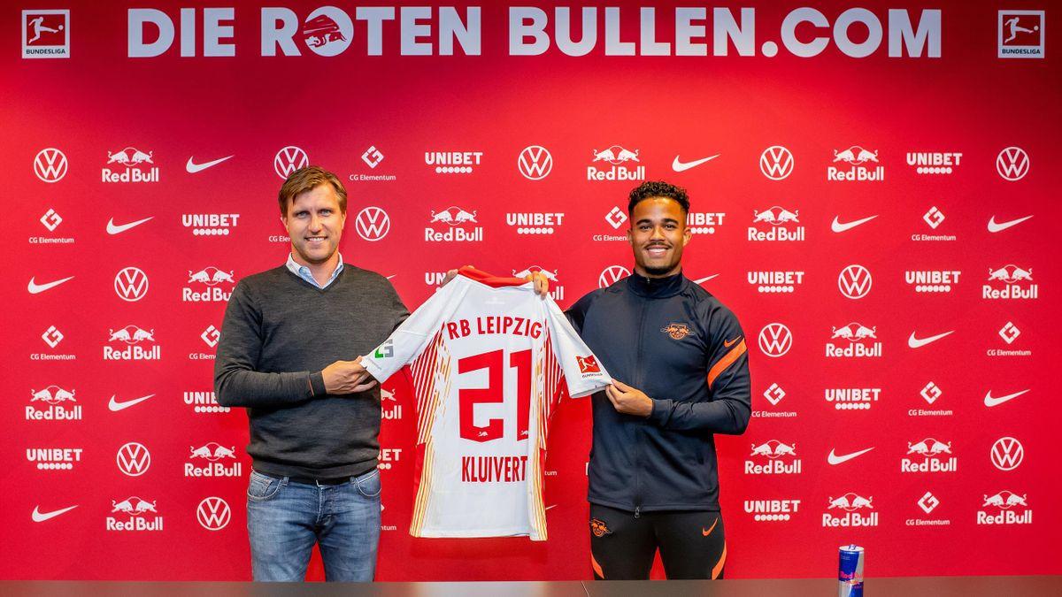 Bundesliga: Kluivert wechselt leihweise von AS Rom zu RB Leipzig - Eurosport
