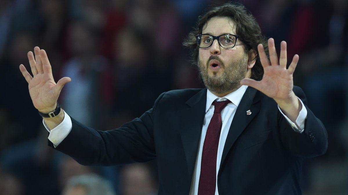 Trainer Andrea Trinchieri siegte mit Bayern deutlich