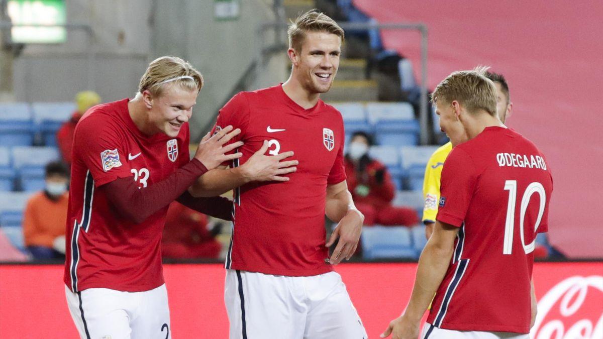 Erling Haaland Hits Norway Hat Trick To Help Crush Romania Eurosport