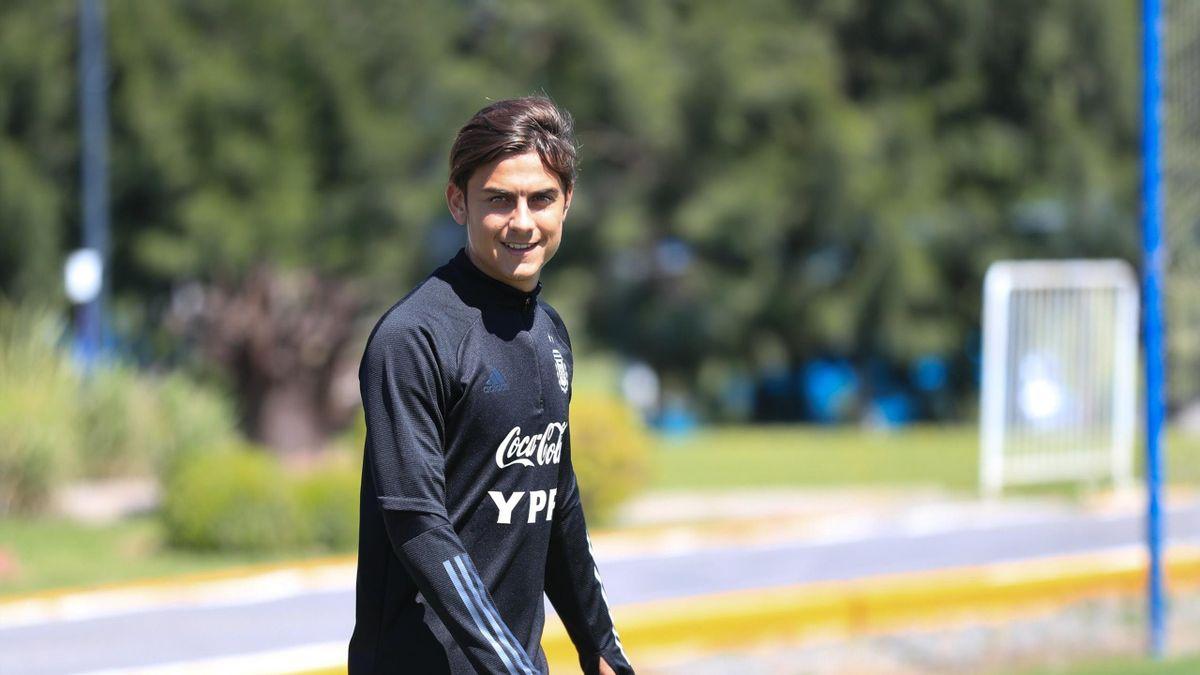 Paulo Dybala in Nazionale (sito ufficiale Argentina)