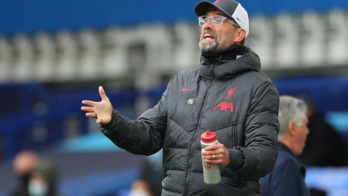 Jurgen Klopp a fost foarte nervos din cauza arbitrajului de la Everton-Liverpool