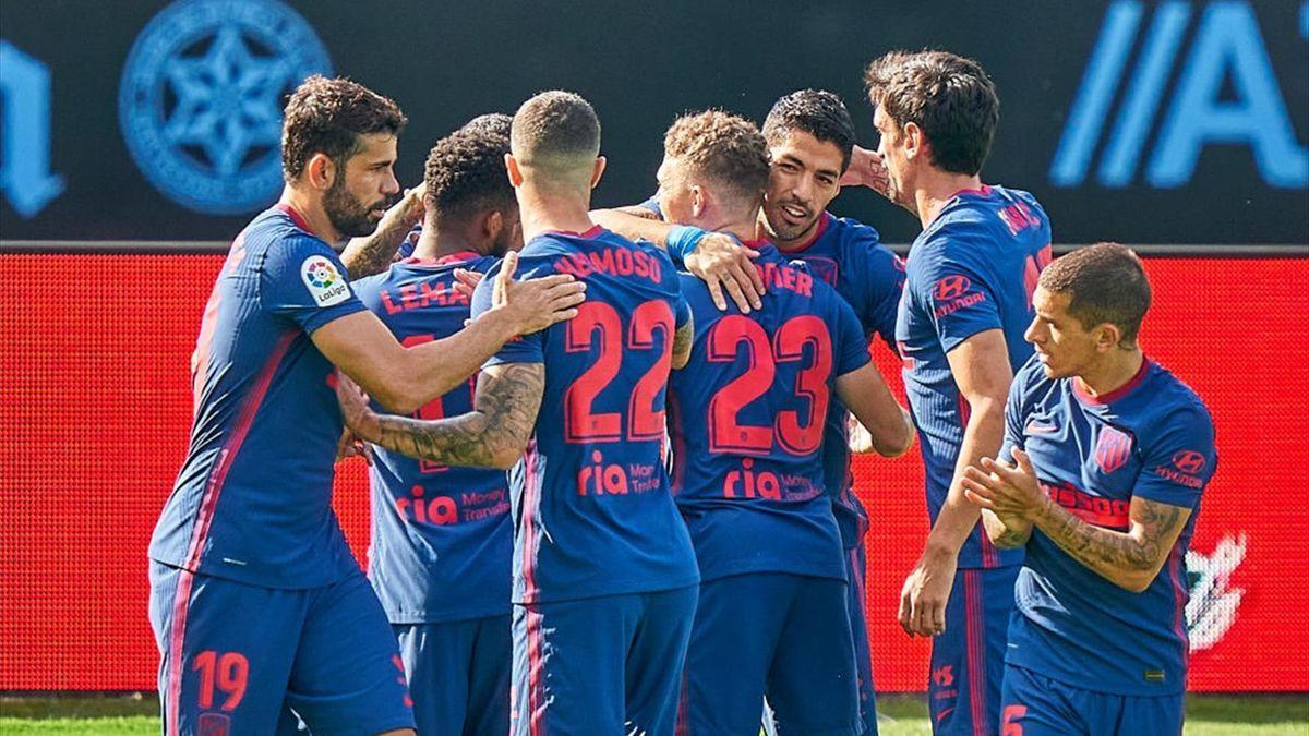 Luis Suárez Celta-Atlético de Madrid