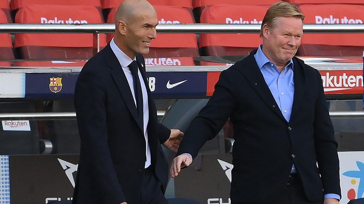 Zidane y Koeman