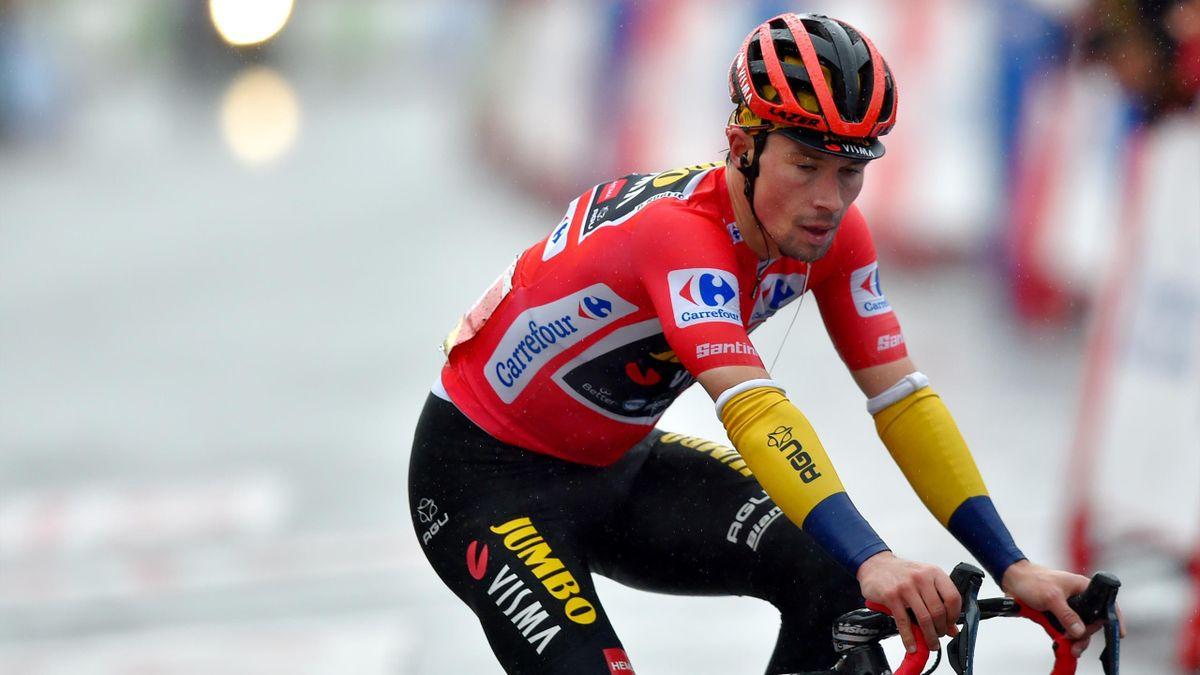 Primoz Roglic a pierdut timp important în etapa a 6-a din Vuelta 2020