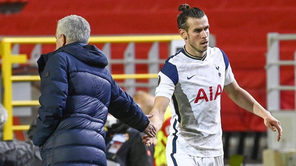 Mourinho y Bale en Europa League