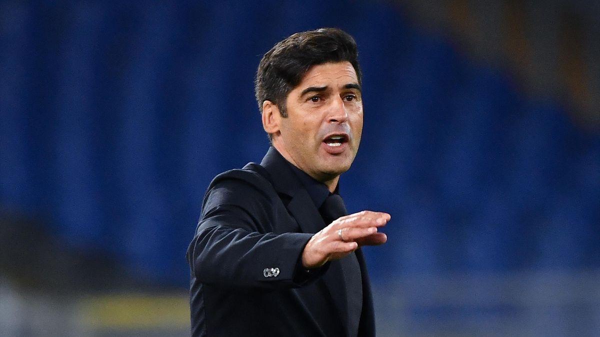 Paulo Fonseca, antrenorul lui AS Roma