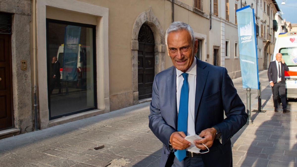 Gabriele Gravina, il presidente della Figc