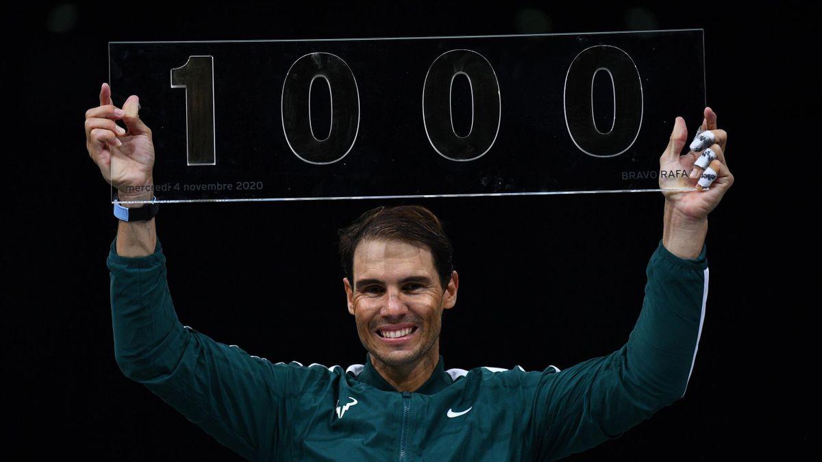 Nadal y sus 1000 victorias