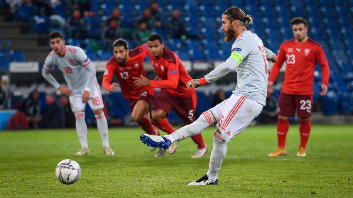 Sergio Ramos verschoss gegen die Schweiz zwei Elfmeter