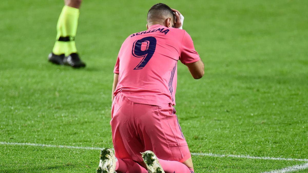 Karim Benzema, lesionado