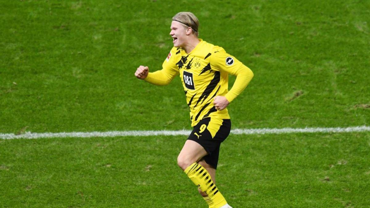 Haaland a marcat 4 goluri cu Hertha