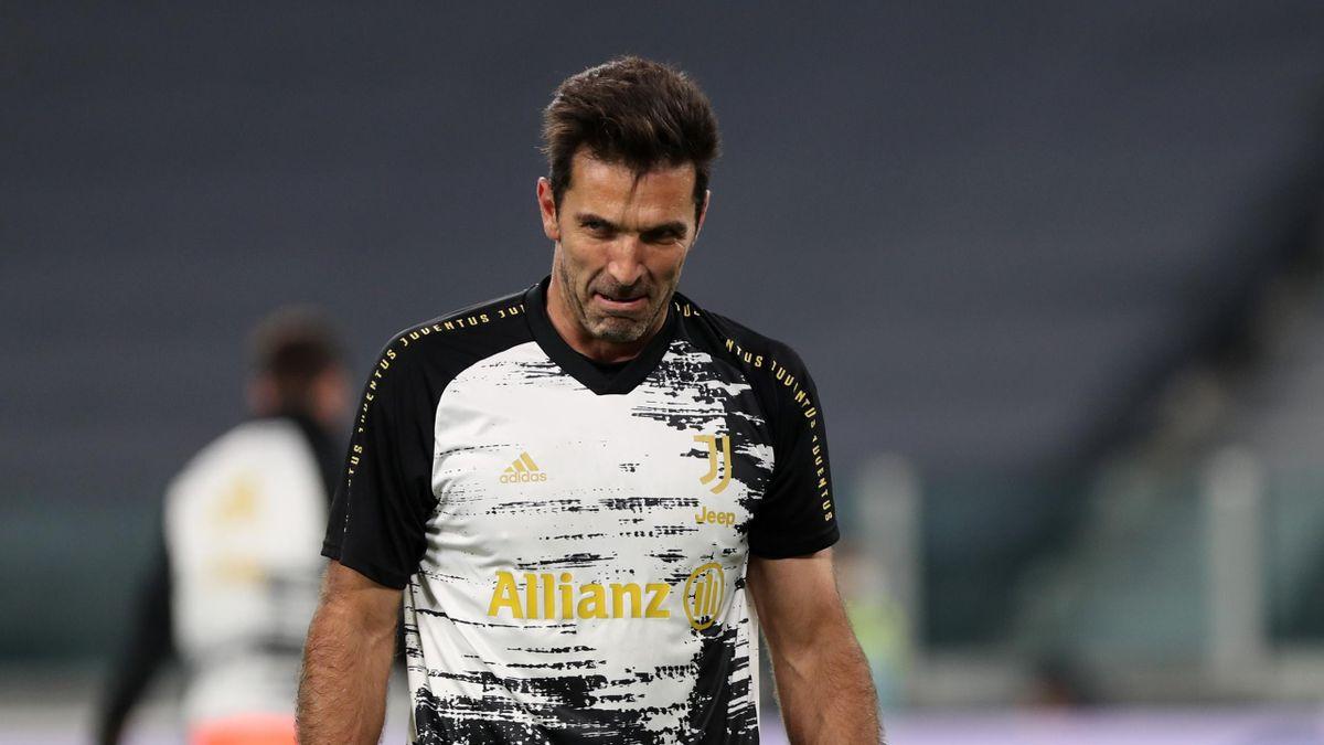 Gigi Buffon salta Juve-Ferencvaros