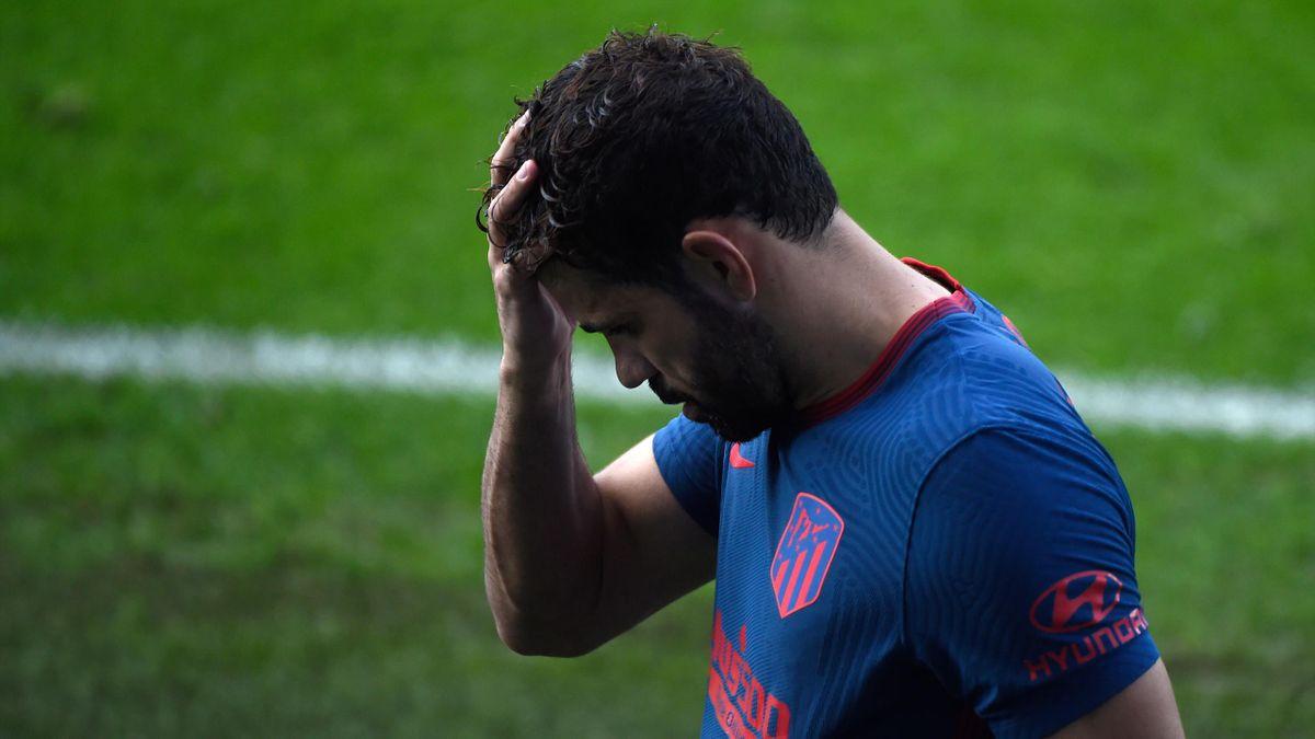 Diego Costa, fostul atacant al lui Atletico Madrid
