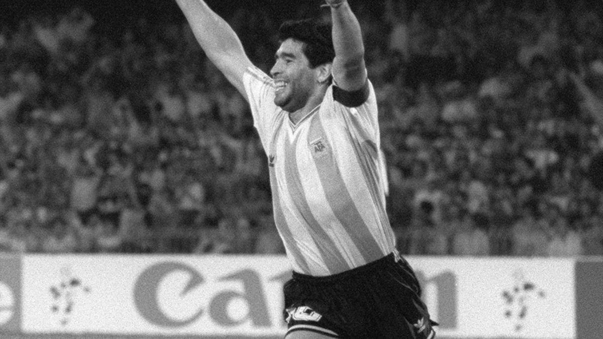Maradona starb am Mittwoch im Alter von 60 Jahren