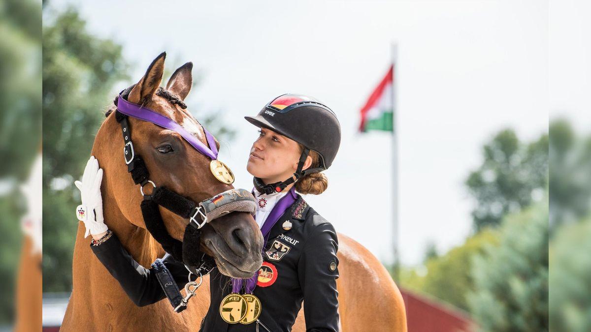 Lucie Anouk Baumgürtel, European Champion 2020