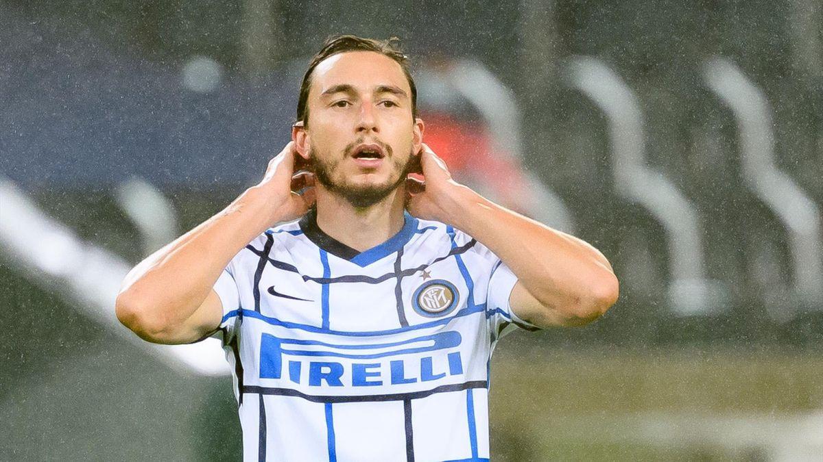 Borussia Monchengladbach-Inter, Matteo Darmian, autore dello 0-1