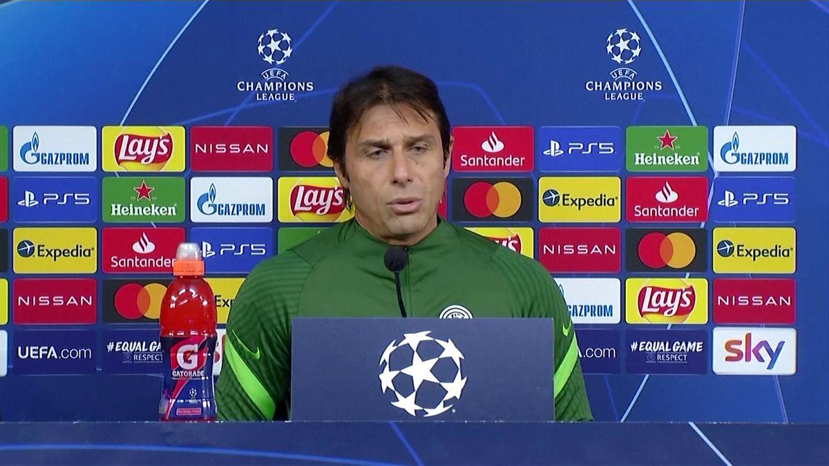 Champions, Conte prima di Inter-Shakhtar