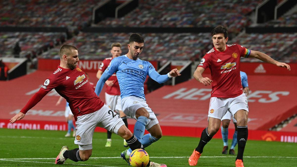 Manchester United trennt sich torlos von City