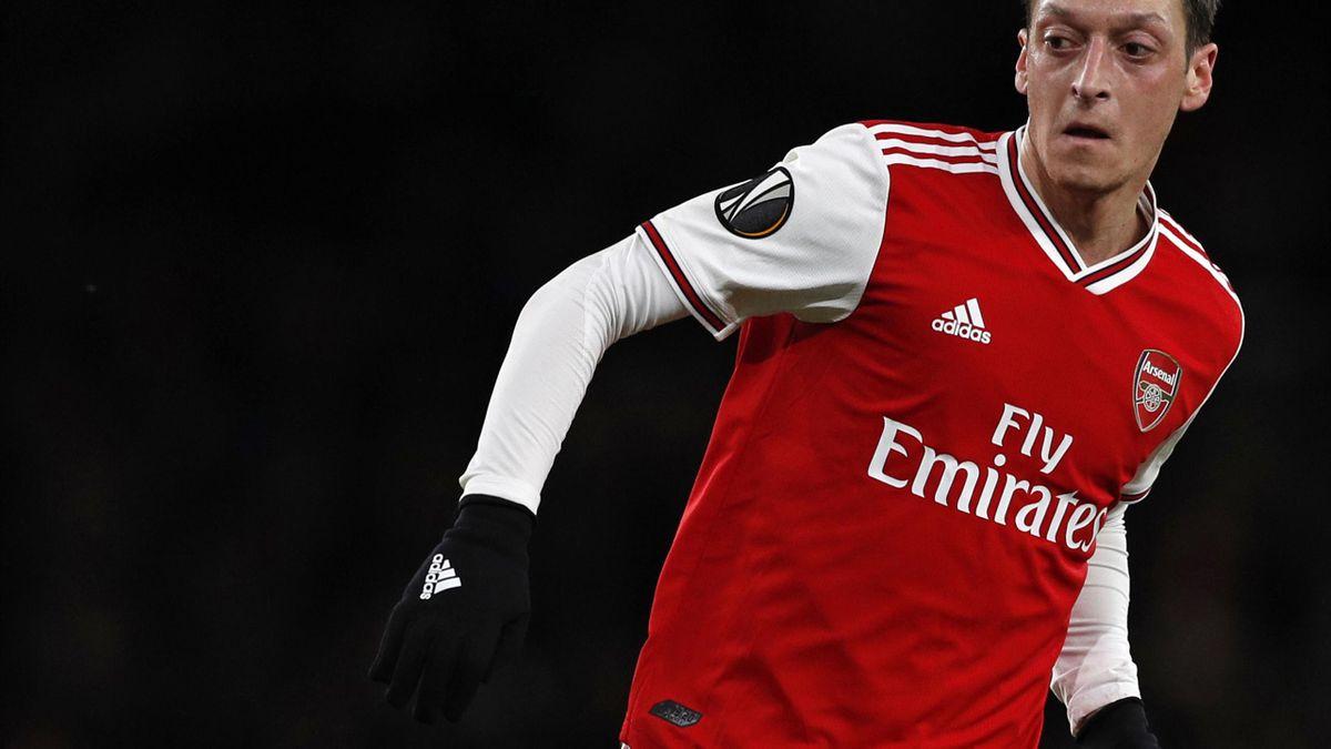 Mesut Özil spielt seit 2013 für den FC Arsenal