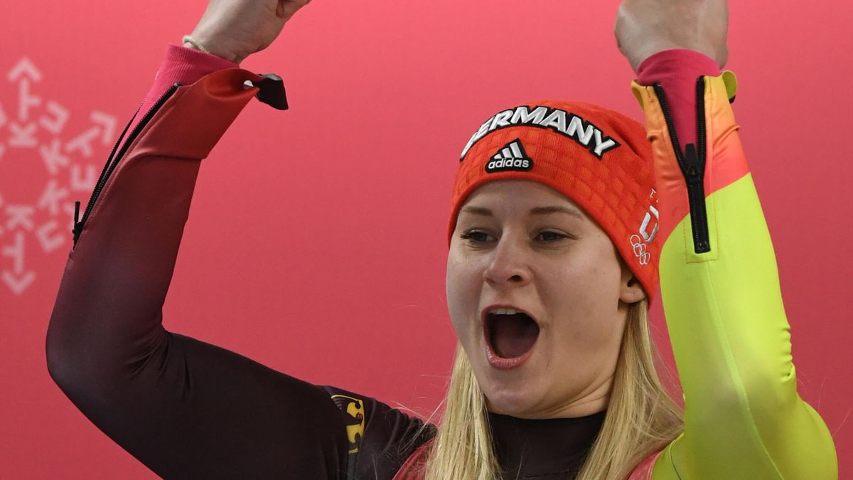 Rodeln: Dajana Eitberger gewinnt den Weltcup in Oberhof