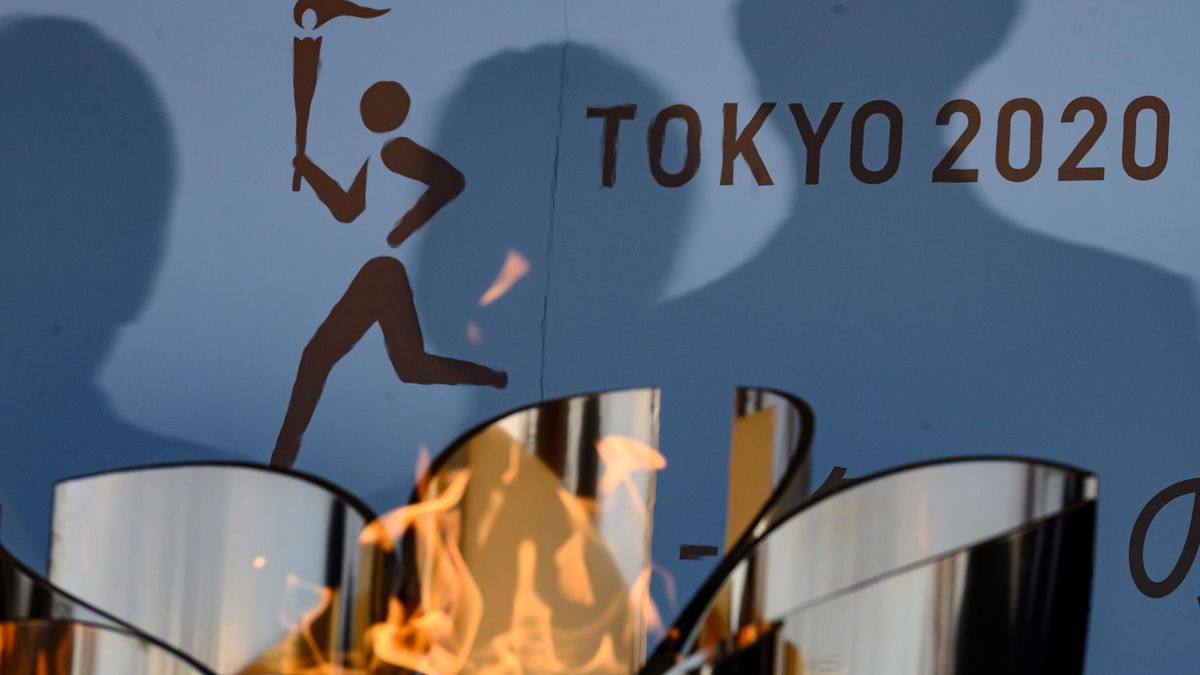 Olympische Flamme in Tokio