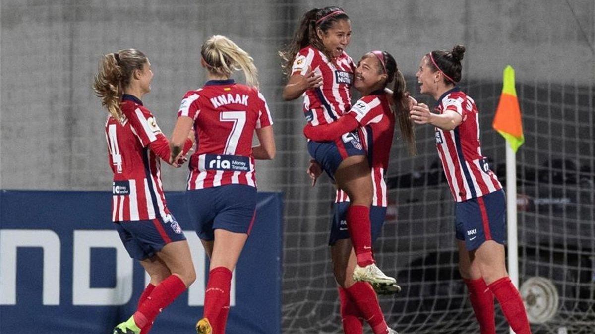 El Atlético, a octavos al son del ritmo latino