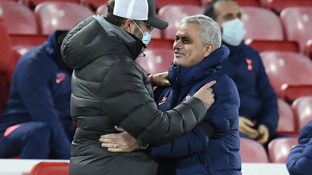Jose Mourinho și Jurgen Klopp