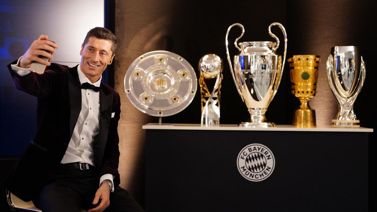 Lewandowski y todos sus títulos
