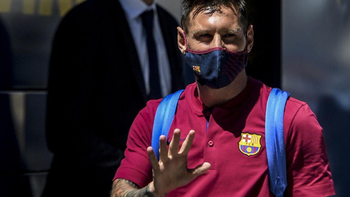 Lionel Messi bekommt von seinem Klub Sonderurlaub