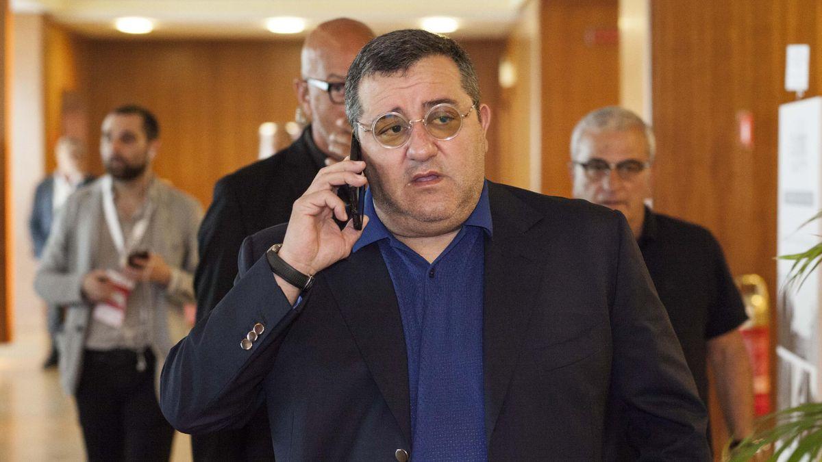 Mino Raiola ist Berater von Erling Haaland (BVB)