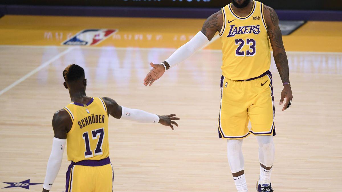 Schröder und die Lakers siegten erneut