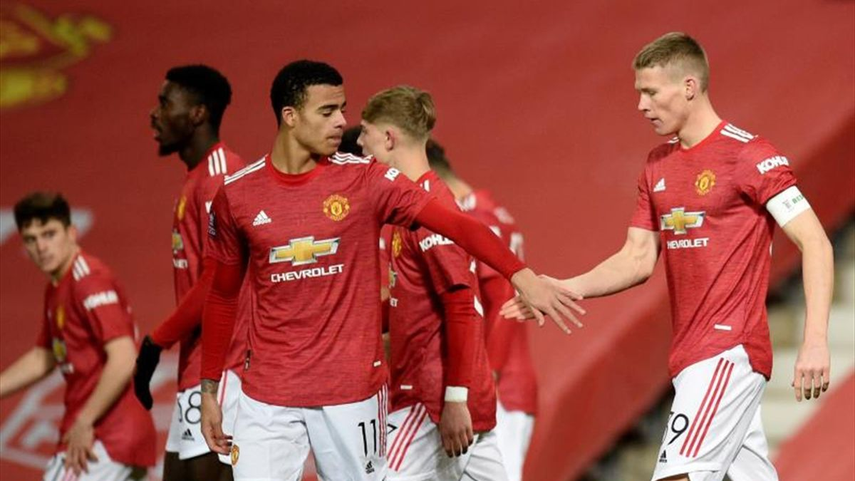 McTominay clasifica al Manchester United - Eurosport
