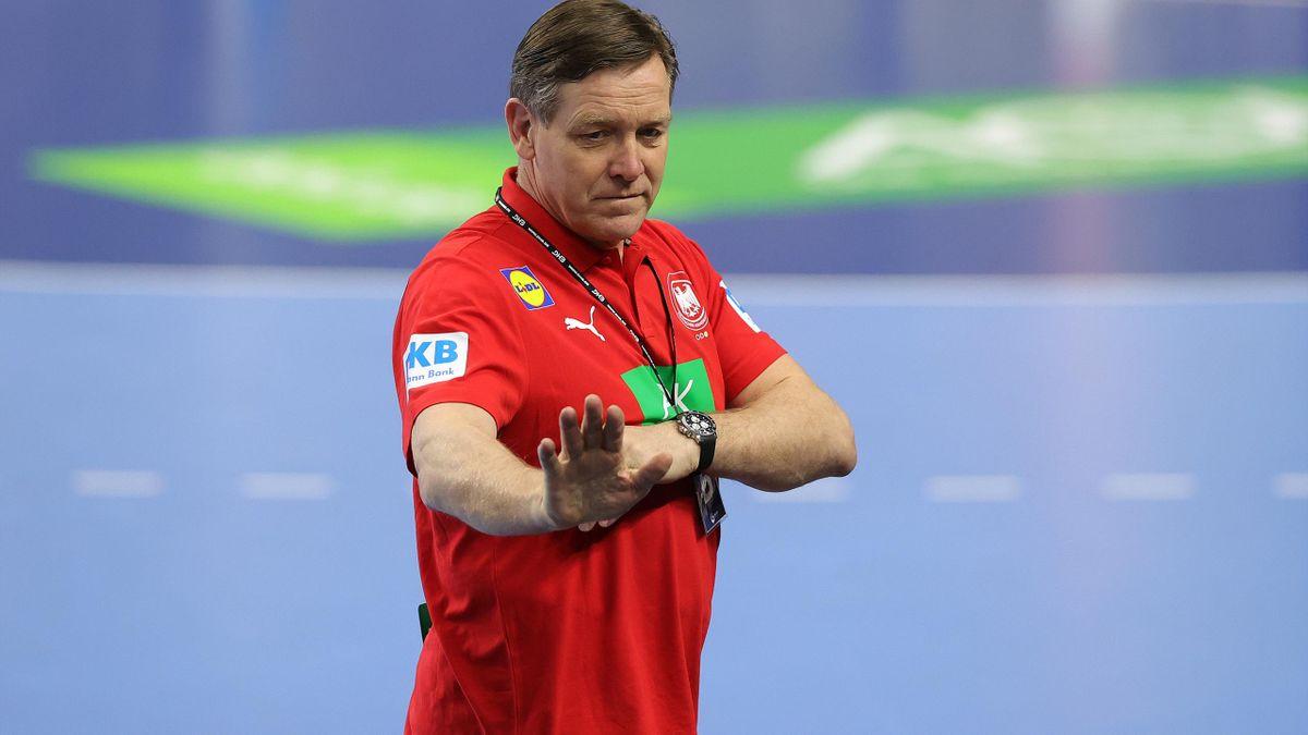 Handball-Bundestrainer Alfred Gislason