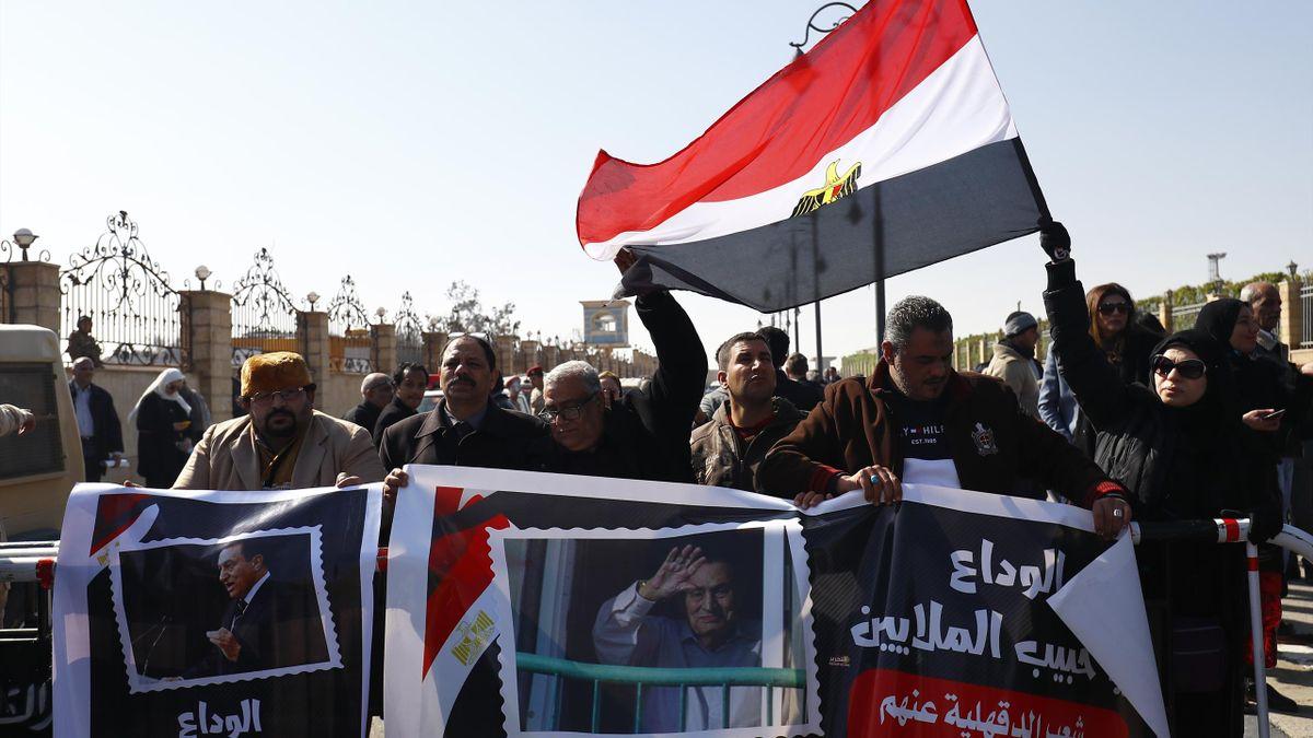 Proteste in Ägyptens Hauptstadt Kairo