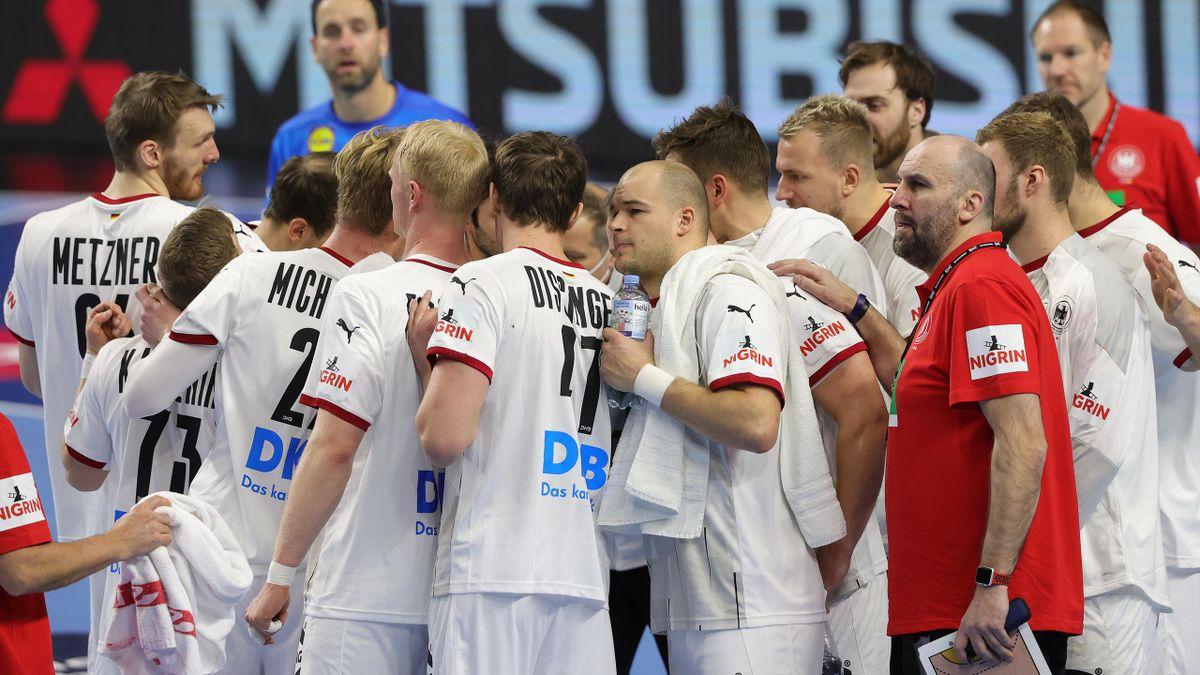 Das deutsche Handball-Team