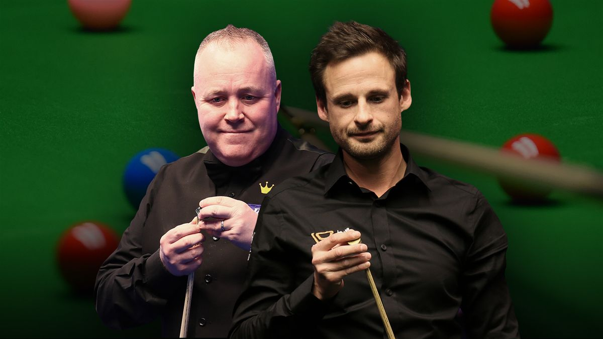 Masters: John Higgins v David Gilbert