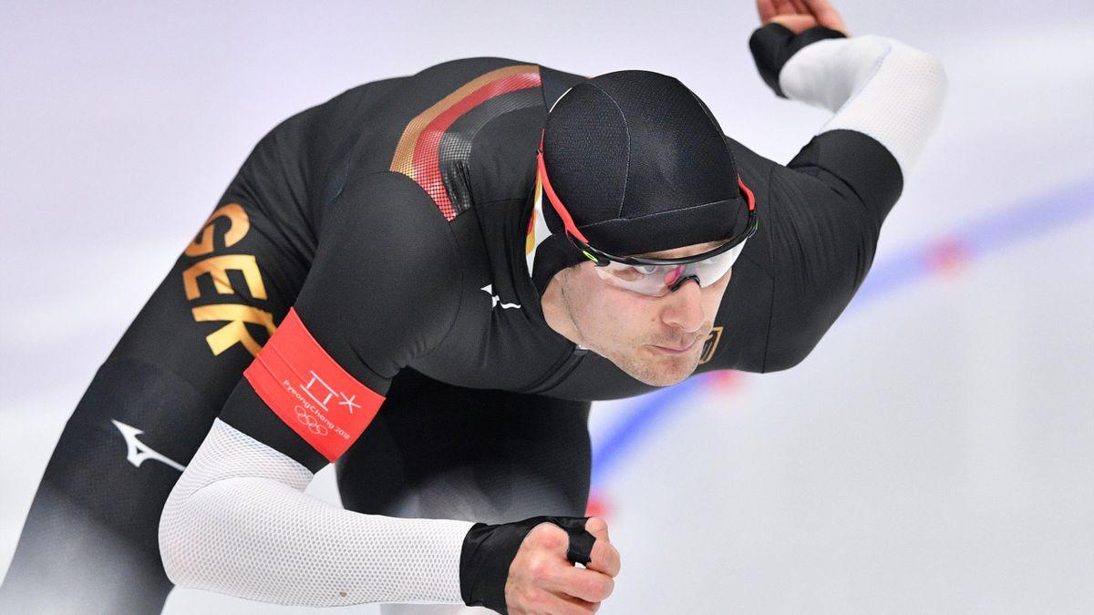 Joel Dufter startet gut in die Eisschnelllauf-EM