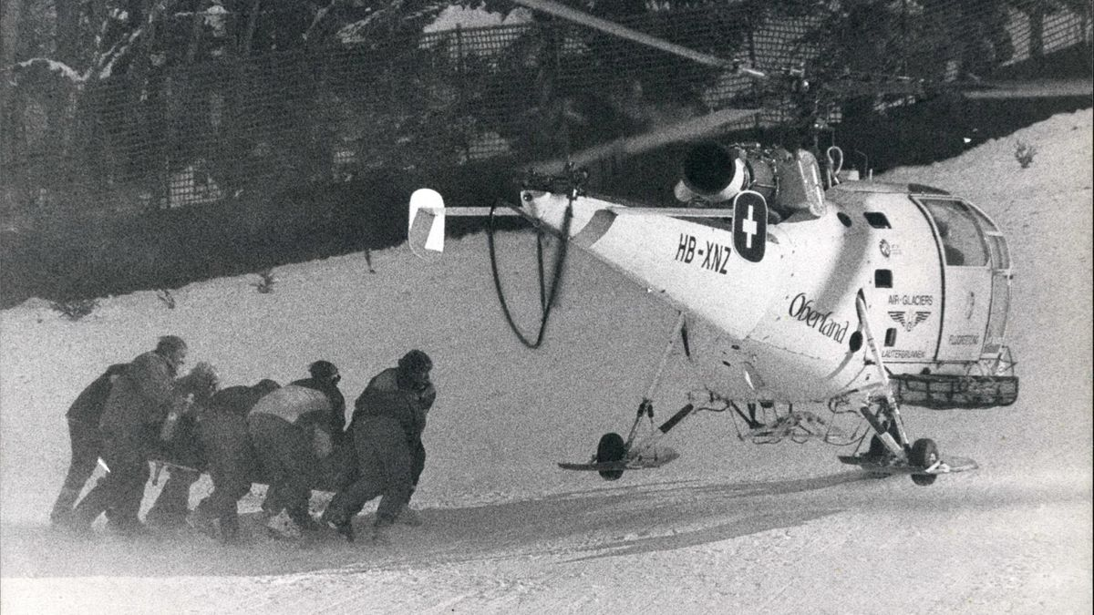 19. Januar 1991: Gernot Reinstadler stürzt tödlich am Lauberhorn