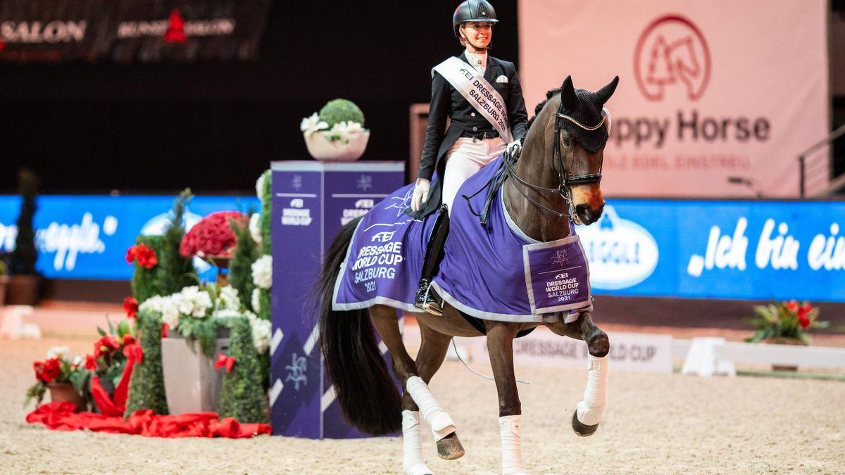 Magnifique victoire de Jessica von Bredow-Werndl et TSF Dalera BB en Autriche.