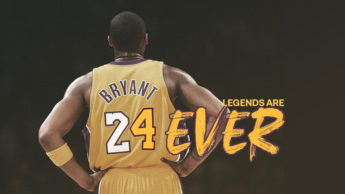 Kobe Bryant, Legends are Forever