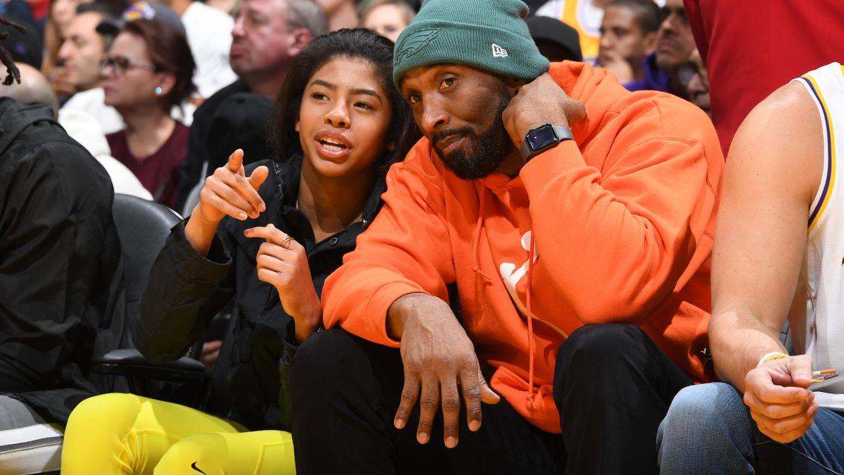 Kobe Bryant und Tochter Gianna starben bei dem Absturz