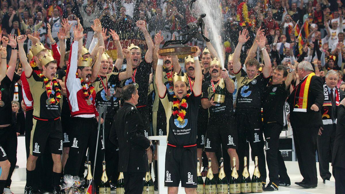 Die Deutschen bejubeln ihren WM-Sieg